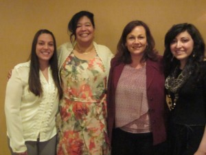Our 2015 Scholarship winners Amanda Pajonk, Sonja Ford, Stephanie Aker, and Maria Garibay Campos