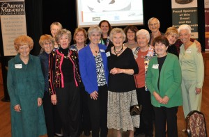 from left to right – Marlene McCracken, Sue Baker, Cheryl Wilderman, Jo Murphy, Jane McGrath, Carol Tobiassen, Debi Parcheta, Ruth Fountain, Terry Caron, Ingrid Lindemann, Don Lindemann, Terri Gehler, Margee Cannon, Gwen Thayer.