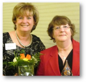 Jane McGrath and Lynne Evans, Women Making a Difference Honorees 2015