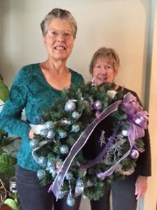 Cheryl Wilderman and Donna Corriveau